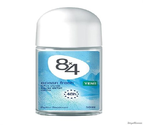 8x4 Roll-On 50ml Ocean Fresh Kadın