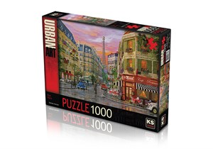 Ks Games Puzzle 1000 Rue Paris