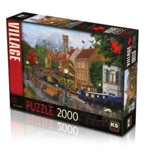 Ks Games Puzzle 2000 Canal Living