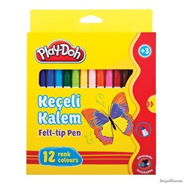 Play Doh Keçeli Kalem 5 mm 12 Renk