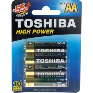 Toshiba High Power 4lü Alkalin Kalem Pil